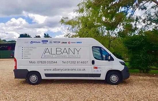 Albany Mobile Caravan Services - Van